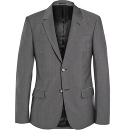Alexander Mcqueen - Wool And Mohair-Blend Suit Jacket
