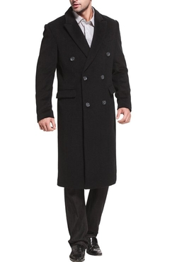 Bgsd - Wool Blend Double Breasted Walking Coat