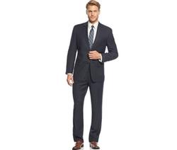 Izod  - Navy Pindot Suit