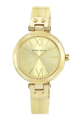 Anne Klein  - Round Skinny Bangle Watch