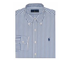Polo Ralph Lauren  - Classic-Fit Striped Dress Shirt