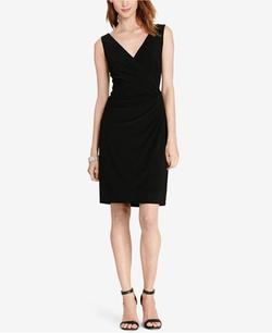 Lauren Ralph Lauren - Beaded-Strap Jersey Dress