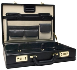 Roadpro - Leather-Like Expandable Briefcase