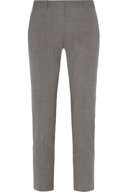 Theory - Testra Stretch-Wool Straight-Leg Pants