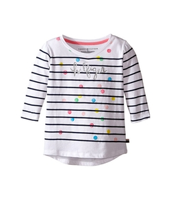 Tommy Hilfiger Kids  - Stripe Hilfiger Long Sleeve Top