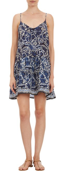 "Natalie Martin - Abstract Floral-Print ""Erica"" Dress"