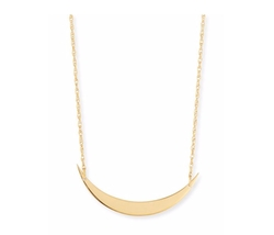 Jennifer Zeuner - Skylar Horizontal Moon Layered Necklace