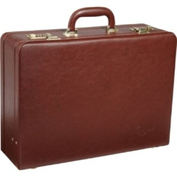 Amerileather - Faux Leather Attaché Case