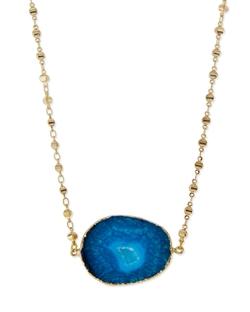 Panacea - Short Stone Pendant Necklace