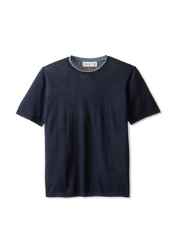 Pringle Of Scotland - Contrast Crew Neck Knit T-Shirt