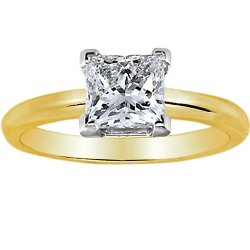 Houston Diamond District - Diamond Solitaire Engagement Ring