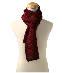 Calvin Klein  - Two-Tone Seed Stitch Muffler Scarf