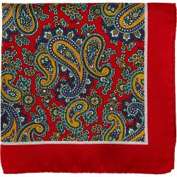 Barneys New York - Paisley Pocket Square