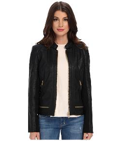 Sam Edelman  - Elise Faux Leather Jacket