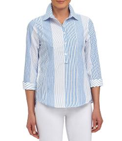 Westbound - Inset Vent Easy-Care Blouse