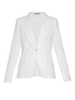 Maison Margiela - Slit-Back Panama Cotton Blazer