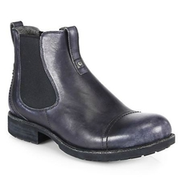 UGG Australia - Gallion Leather Pull-On Ankle Boots