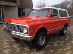 Chevrolet - 1972 Blazer SUV