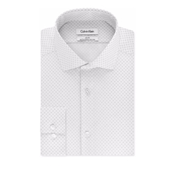 Calvin Klein - Steel Print Dress Shirt