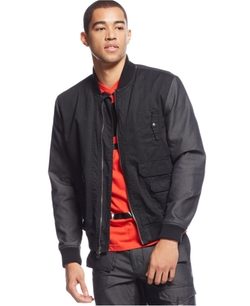 Sean John - Two-Tone Bomber Jacket