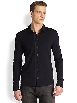 Emporio Armani  - Cotton Sportshirt