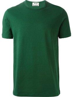 Acne Studios  - Crew Neck T-Shirt