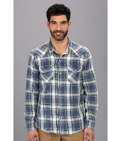 Silver Jeans Co.  - Indigo Plaid Button Down Shirt