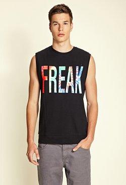 Forever 21 - Freak Muscle T-Shirt