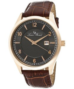 Lucien Piccard  - Weisshorn Brown Leather Watch