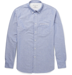 Officine Generale  - Slim Fit Cotton Oxford Shirt