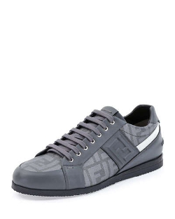 Fendi - Softy Lace-Up Low-Top Sneaker