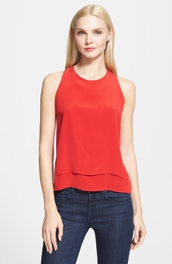 Milly  - Silk Layered Tank Top