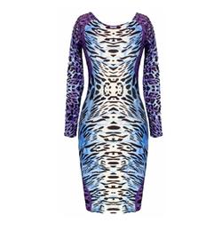 Eyekepper - Leopard Printed Bodycon Dress