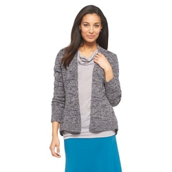Cherokee - Ruffled Back Cardigan Sweater