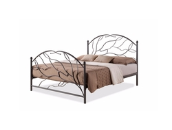 Baxton Studio  - Zinnia Tree Style Antique Bronze Iron Metal Platform Bed