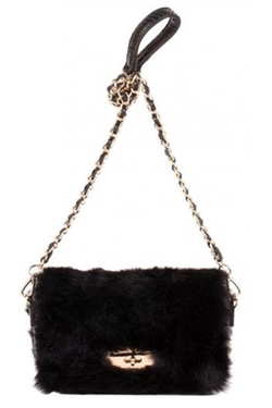 Claudia & - Faux Fur Box Bag