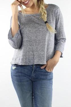 Lisakai - Bell Sleeve Crop-Top