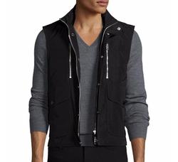 Burberry  - Moto Front-Zip Vest
