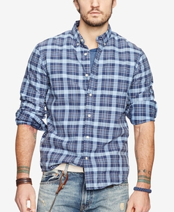 Denim & Supply Ralph Lauren - Plaid Oxford Shirt
