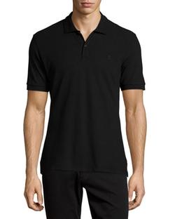 Alexander McQueen - Pique Skull-Logo Polo Shirt