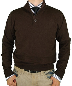Luciano Natazzi - Mock Neck Sweater