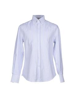 Brunello Cucinelli  - Long Sleeve Stripe Shirt