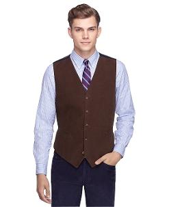 Brooks Brothers - Brushed Cotton Vest
