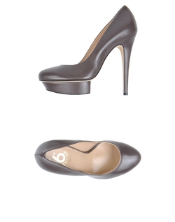 6 Taboo - Leather Platform Pumps