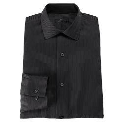 MARC ANTHONY  - Modern-Fit Striped Spread-Collar Dress Shirt
