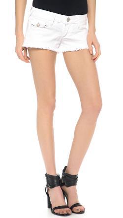 True Religion  - Joey Cut Off Shorts