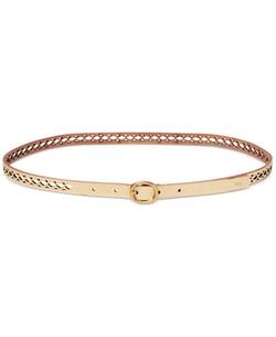Lauren Ralph Lauren - Skinny Perforated Belt