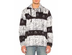 Stussy - Batik Woven Poncho Hoodie