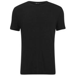 T by Alexander Wang - Slub Rayon Silk T-Shirt