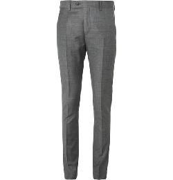 ACNE STUDIOS   - GREY DRIFTER SLIM-FIT WOOL SUIT TROUSERS